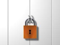 Puerta bloqueada libre illustration