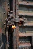 Puerta bloqueada Foto de archivo