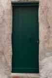 Puerta bloqueada de madera vieja fotos de archivo libres de regalías