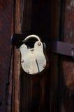 Puerta bloqueada - vertical Fotografía de archivo libre de regalías