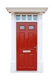 Puerta británica de la casa Imagen de archivo libre de regalías