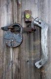 A puerta cerrada Imagen de archivo