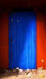 A puerta cerrada Fotografía de archivo