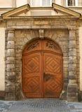 A puerta cerrada Foto de archivo libre de regalías
