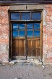 A puerta cerrada foto de archivo