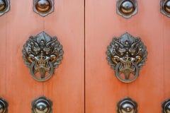 Puerta china fotografía de archivo libre de regalías