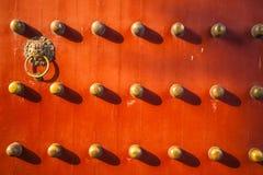 Puerta china Imágenes de archivo libres de regalías