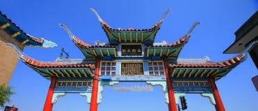 Puerta a Chinatown imagen de archivo