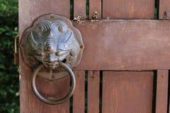 Puerta clásica Fotografía de archivo