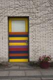 Puerta colorida Imagen de archivo libre de regalías