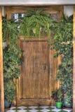 Puerta colorida detallada Foto de archivo libre de regalías