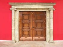 Puerta con estilo foto de archivo libre de regalías