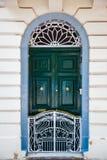 Puerta con la cerca Imagenes de archivo