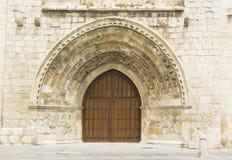 Puerta con las arcadas fotografía de archivo