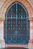 Puerta conmemorativa de la iglesia, Dumfries, Escocia fotos de archivo