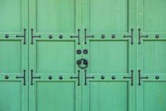 Puerta coreana tradicional del estilo Foto de archivo libre de regalías