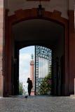 Puerta Darmstad del castillo Imagen de archivo