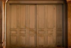 Puerta de Accordian Fotos de archivo
