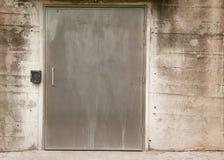 Puerta de acero Fotos de archivo