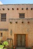 Puerta de Adobe Imagen de archivo