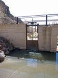 Puerta de agua Foto de archivo libre de regalías