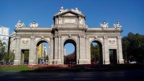 Puerta de Alcalá стоковое фото