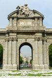 Puerta de Alcalá, Madrid, Spain Royalty Free Stock Photography