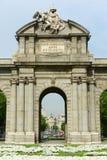 Puerta de Alcalá, Madrid, Spain Royalty Free Stock Photography