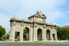 Puerta de Alcalá, Madrid, Spain Stock Photos