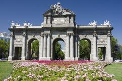 Puerta de Alcalá, Madrid Royalty Free Stock Image