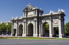 Puerta de Alcala, Madrid Stock Image