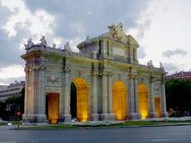 Puerta de Alcalá Stock Image
