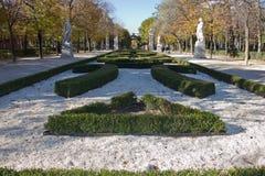 Retiro Park in Madrid Stock Photos