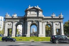 Puerta de Alcala Мадрид Стоковое Фото