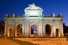 Puerta de Alcala Photographie stock libre de droits
