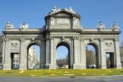 Puerta de Alcala Royalty Free Stock Images