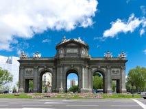 Puerta de Alcala Stock Photography