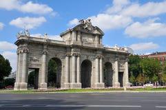 Puerta De Alcala Fotografia Stock