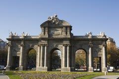 Puerta de Alcala Stock Image