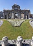 Puerta de Alcala. Alcala gate in Madrid stock photos