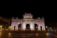 Puerta de Alcala (Alcala Gate), Madrid Stock Photos