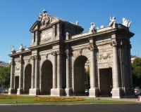 Puerta de Alcala en Madrid fotografía de archivo