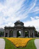 Puerta de Alcala en Madrid Foto de archivo
