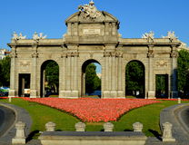 Puerta de Alcala Royalty Free Stock Photo