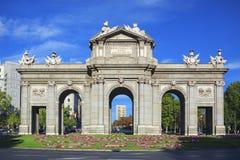 The Puerta de Alcala Stock Images