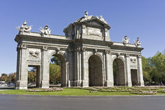 The Puerta de Alcala, Madrid Royalty Free Stock Photography