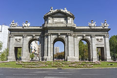 Puerta de Alcala, Madrid Photographie stock