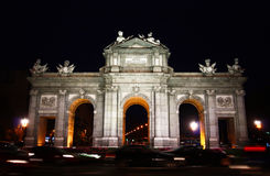 Puerta de Alcala, Madrid Lizenzfreie Stockbilder