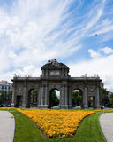 Puerta de Alcala in Madrid Stock Photo