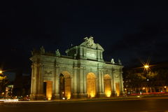 Puerta de Alcala, Madrid Immagini Stock Libere da Diritti